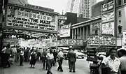Movie houses in New York. 1953 Photo by Robert Kradin ...