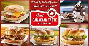 Canadian-Themed Menu Returns to McDonald's Canada | Brand ...