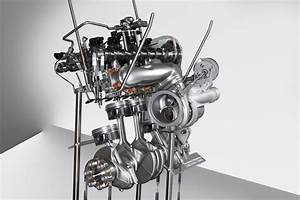 Bmw N20 2 0-liter Turbocharger Engine Cutaway