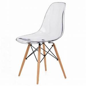 Chaise Transparente Pied Bois : chaise transparente pied bois chaise id es de d coration de maison a6ly1ymlzb ~ Teatrodelosmanantiales.com Idées de Décoration