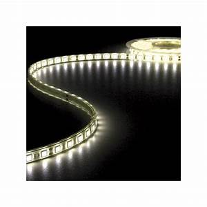 Ruban A Led : ruban led blanc chaud 24v 12mm x 5m 300 leds ip68 99 90 ~ Voncanada.com Idées de Décoration
