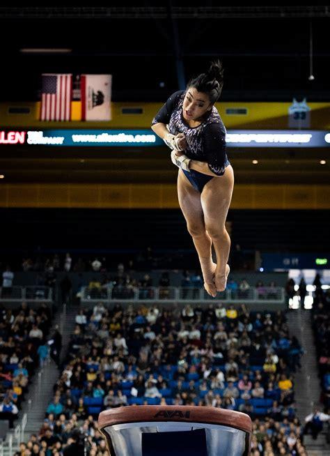 gymnastics undaunted  saturday meet   year losing streak  unbeaten utah daily bruin