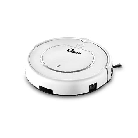 Harga The Shop Clean Free promo ox 889 robot vacuum cleaner oxone 60w white di