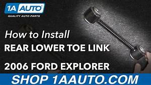 How To Install Rear Lower Transverse Toe Link 06