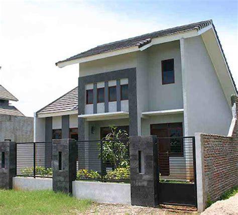rumah tingkat minimalis type  gambar desain rumah