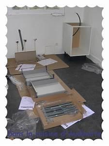 Installer Un Plan De Travail : cuisine ikea tape n 3 montage et installation dans la cuisine d 39 audinette ~ Melissatoandfro.com Idées de Décoration