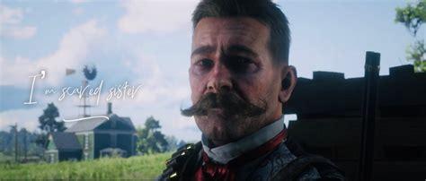 mustache red dead redemption  rdr
