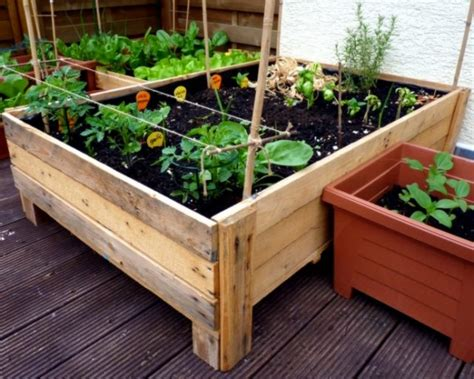building planter boxes container gardening diy planter box from pallets foxy