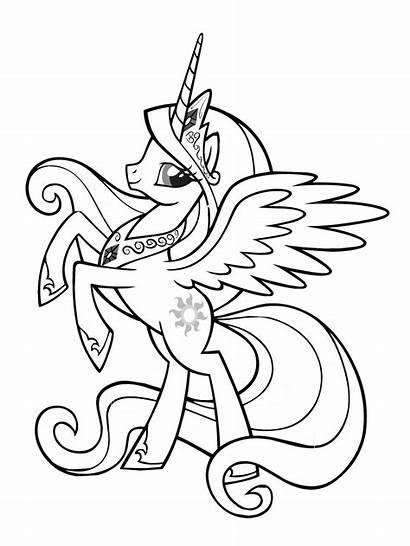 Unicorn Coloring Pony Frank Lisa Pages Adults