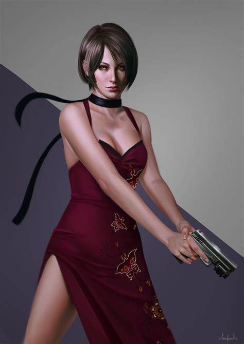 Ada Wong By Tarivanima Re4 Resident Evil Resident Evil