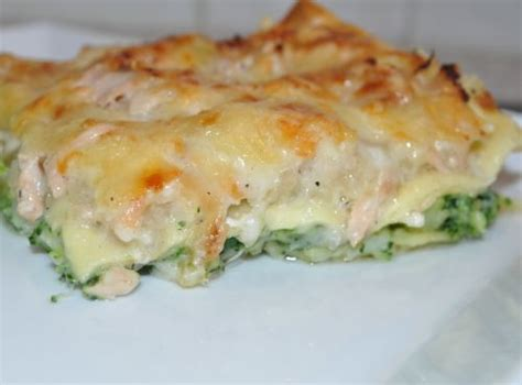 cuisine brocolis lasagnes au saumon et brocoli les recettes de la cuisine