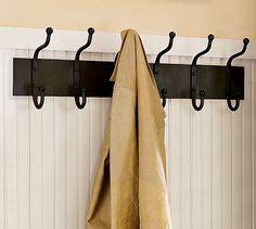 cast iron row of hooks pottery barn 1000 images about coak hook rails on coat