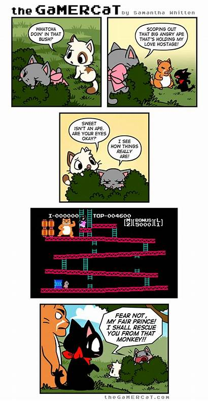 Comics Comic Gamercat Funny Gamer Cat Rage