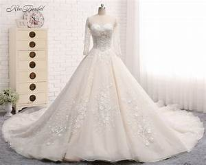 big tulle ball gown wedding dress promotion shop for With wedding dress express