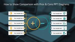 How To Show Comparison With Pros  U0026 Cons Ppt Diagrams