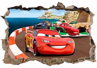 Cars Wall Hole Stickers Sticker Muraldecal Disney