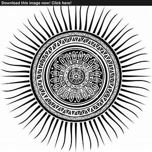 Image Gallery mayan sun symbol