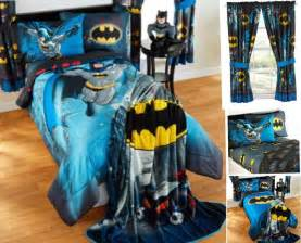 9pc dc comics batman comforter sheets curtains set bed in a bag room ebay
