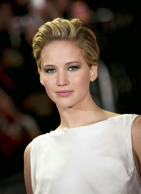 Jennifer Lawrence Short Hairstyles Hairstyles And Haircuts