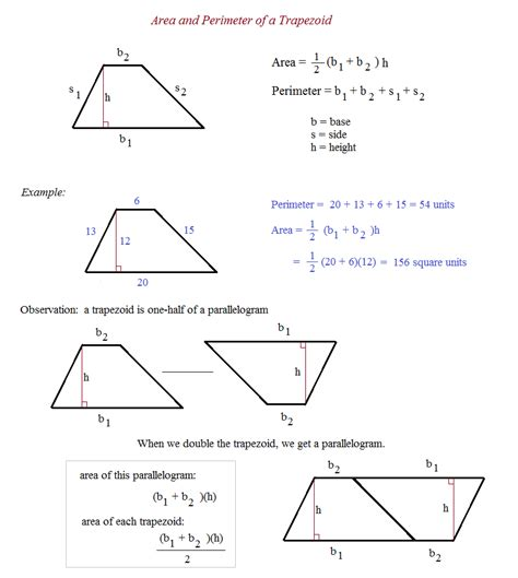 area trapezoid worksheet free worksheets library