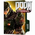 Doom Eternal Icon Folder Designbust Icons