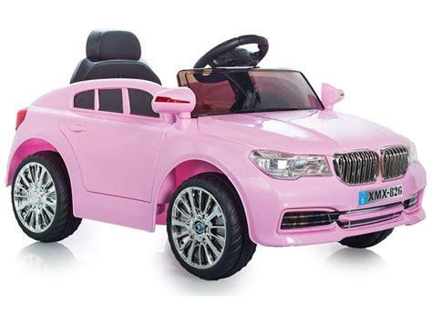 Bmw X5 Replica Kids Pink Electric Car  12v Motorised Sit
