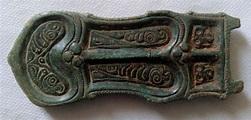 Merovingian Frankish Belt Buckle, Bronze - 10,4 cm - Catawiki