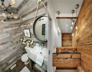 Salle De Bain Style Industriel : id e d co salle de bain bois 40 espaces cosy et chics qui ~ Dailycaller-alerts.com Idées de Décoration