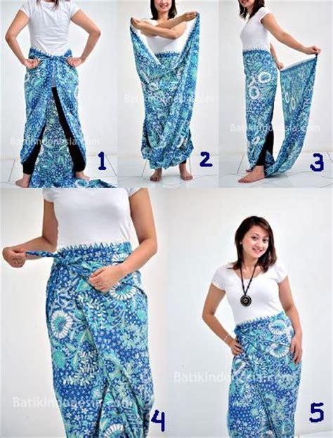 atasan semi kebaya 3 siminyun 39 s story cara pakai kain batik sebagai rok