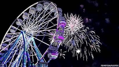 Edc Fiestas Gifs Electronicas Meetups Ferris Wheel