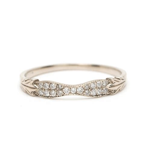 women s wedding bands vintage inspired wedding band