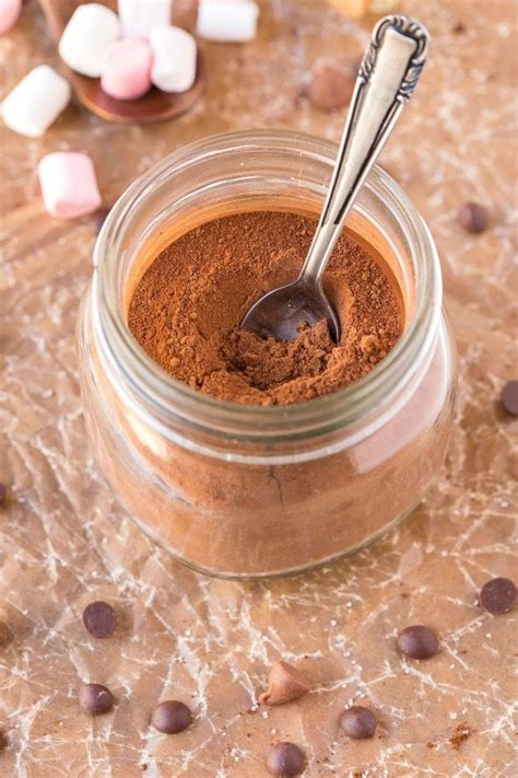 Healthy Homemade Sugar Free Hot Chocolate Mix