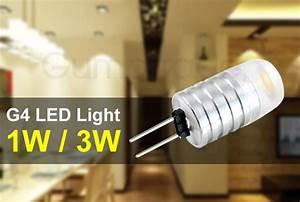 Led G4 3w : mengsled mengs g4 3w led light aluminum body ac dc 12v in warm white cool white energy ~ Orissabook.com Haus und Dekorationen