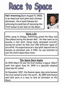 Neil Armstrong reading comprehension and questions by ...