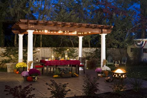 dining outdoor gazebo lighting wonderful outdoor gazebo