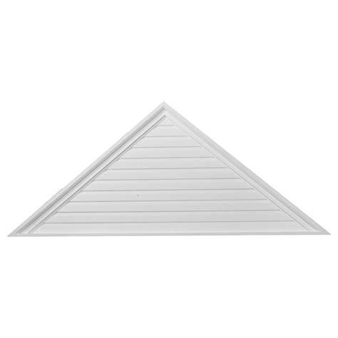 Decorative Gable Vent Covers by 48 Quot W X 24 Quot H X 2 1 8 Quot P Triangle Gable Vent Decorative