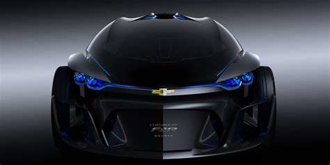 Chevy Concept Car by This Chevrolet Fnr Concept Car Is Science Fiction Made