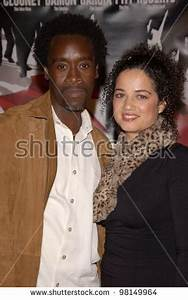 Actor Don Cheadle & Wife At The World Premiere, In Los ...