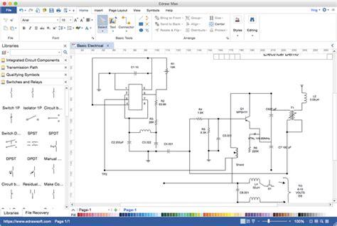 Circuit Diagram Visio Alternative For Mac Windows Linux
