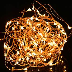 Ft copper wire led starry lights festival decorative