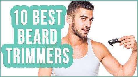 beard trimmer top beard trimmers toplist youtube