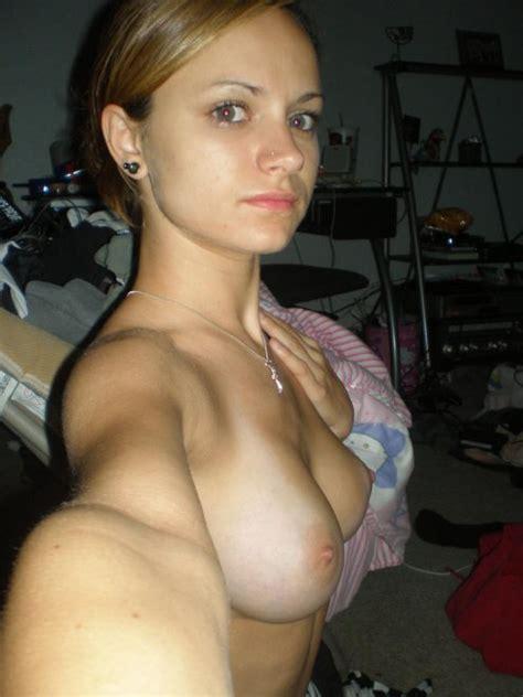 Blonde Topless Selfie Porn Pic Eporner
