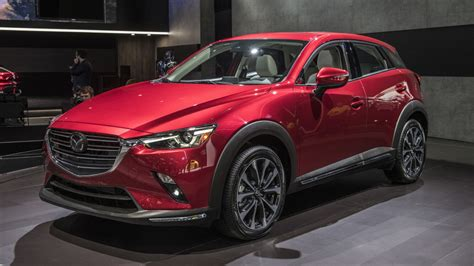 Mazda Cx3 Compact Crossover Updated For 2019 Autoblog