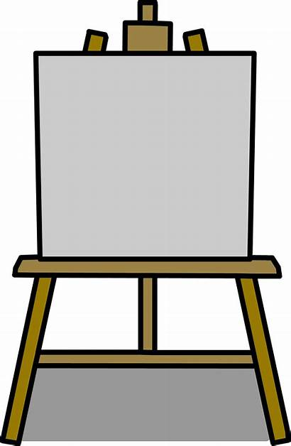 Caballete Easel Canvas Clip Arte Painting Wikia