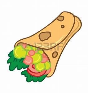 Sandwich Wrap Clipart (12+)