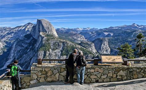 yosemite glacier point national park california dome half valley road falls nps overlook service gov views parque country bus yose