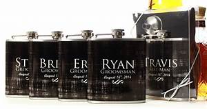 wedding party gifts flasks for groomsmen custom gifts With wedding party gifts for guys