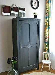 Petite Armoire Blanche : 1001 id es pour relooker une armoire ancienne ~ Teatrodelosmanantiales.com Idées de Décoration