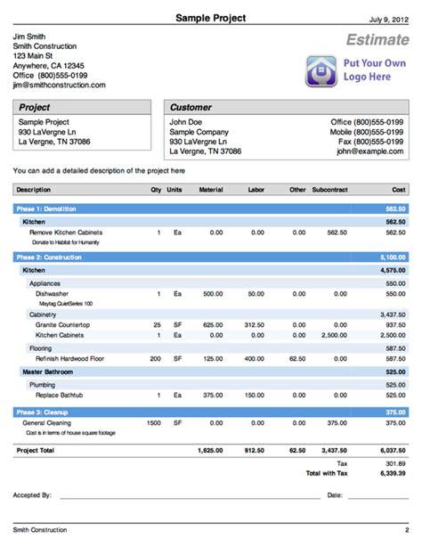 kitchen interior design software construction cost estimator
