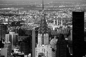 Black and White Cityscape of New York City image